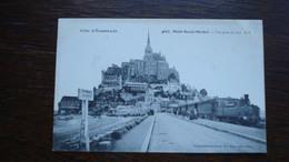 MONT SAINT MICHEL -VUE DU SUD - Le Mont Saint Michel