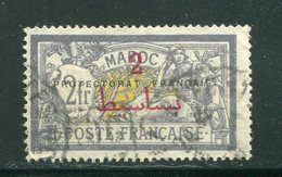 MAROC- Y&T N°52- Oblitéré - Maroc (1891-1956)