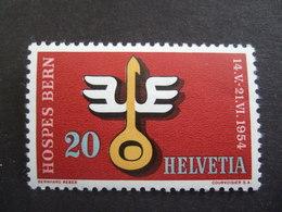 SWITZERLAND. 1954.  MI 594. HOSPES   MNH **  (S32-NVT) - Suisse