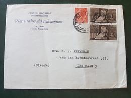 (18619) STORIA POSTALE ITALIA 1955 - 1946-.. République