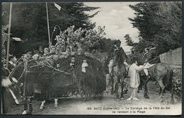 Batz - Le Cortège De La Fête Du Sel Se Rendant à La Plage - 183 F. Chapeau éditeur. - Voir 2 Scans - Batz-sur-Mer (Bourg De B.)