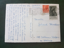 (18620) STORIA POSTALE ITALIA 1955 - 1946-60: Storia Postale