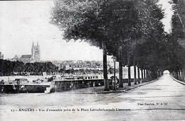 49 - ANGERS - Vue D'ensemble Prise De La Place Laroche Foucault-Liancourt - - Angers