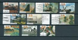 2002 Netherlands Complete Set Art,kunst Used/gebruikt/oblitere - Periode 1980-... (Beatrix)