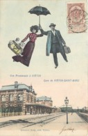 Virton - Surréalisme - Une Promenade à Virton - Gare De Virton St-Mard - Virton