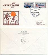 Interflug Erstflug TU 134 Berlin-Tunis Tunesien, Luftpost Air Mail DDR 1983 - DDR