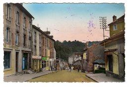 CPSM Photo Couleur Homecourt 54 Meurthe Et Moselle Rue Thiers Animée Imprimerie Continentale éditeur G Réant N°7 - Homecourt