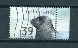 2003 Netherlands Seal,zeehond Used/gebruikt/oblitere - Periode 1980-... (Beatrix)