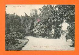 CPA FRANCE 81  ~  LAVAUR  ~  Jardin De L'Evêché Et Tour Saint-Alain  ( Berdoulat )  Animée  2 Scans - Lavaur