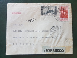 (18622) STORIA POSTALE ITALIA 1955 - 1946-60: Storia Postale