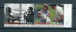 2003 Netherlands Pair Royal Family Used/gebruikt/oblitere - Periode 1980-... (Beatrix)