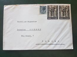 (18624) STORIA POSTALE ITALIA 1955 - 1946-60: Storia Postale