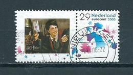 2005 Netherlands Christmas,kerst+ Tab H.Potter Used/gebruikt/oblitere - Periode 1980-... (Beatrix)
