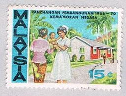 Malaysia 38 Used Nurse (BP23611) - Malaysia (1964-...)