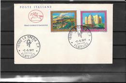 Italia - Europa Cept 1977 Fdc (ref 611 ) - 6. 1946-.. Republic