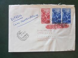 (18625) STORIA POSTALE ITALIA 1955 - 1946-60: Storia Postale