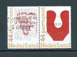 2008 Netherlands Pair Keuze Van Nederland Used/gebruikt/oblitere - Periode 1980-... (Beatrix)