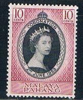 Malaya Pahang 71 MNH Coronation Issue  CV 2.25 (M0247) - Pahang