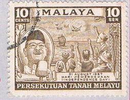 Malaya Federation 84 Used Tunku Rahman (BP22419) - Federation Of Malaya