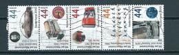 2010 Netherlands Strip Rijksoctrooiwet Used/gebruikt/oblitere - Periode 1980-... (Beatrix)