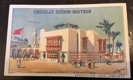 GUERIN BOUTRON  Exposition Universelle Paris 1900 Illustrateur Toussaint EGYPTE - Guérin-Boutron