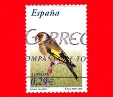 SPAGNA - Usato - 2006 - Flora E Fauna - Uccelli - Cardellino - Carduelis Carduelis - 0.29 - 1931-Oggi: 2. Rep. - ... Juan Carlos I