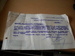 Szabadka Subotica Vujkovics Gyorgy 1941 - Facturas & Documentos Mercantiles