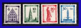 1949 - Alemania - ZF Baden - Sc. 5NB5 - 5NB8 - MNH - Al-ZF- 268 - Zone Française