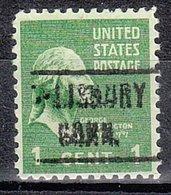 USA Precancel Vorausentwertung Preo, Locals Connecticut, Salisbury 466 - Vereinigte Staaten