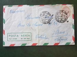 (18630) STORIA POSTALE ITALIA 1957 - 1946-60: Storia Postale