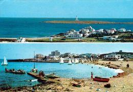 1 AK Formentera * Blick Auf Punta Prima Und Die Insel Illa De L'Aire Mit Dem Leuchtturm Far De L'Illa De L'Aire * - Menorca