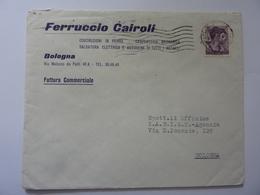 """Busta Viaggiata Pubblicitaria """"FERRUCCIO CAIROLI Bologna"""" 1964 - 6. 1946-.. Repubblica"""