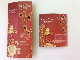 2 Surboites  Clarins Nouvel An Chinois - Cartas Perfumadas