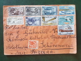 (18632) STORIA POSTALE ITALIA 1956 - 1946-60: Storia Postale