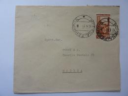 """Busta Viaggiata Pubblicitaria """"Fabbrica Italiana Prodotti Linterezzati FIPS Torino"""" 1953 - 1946-60: Storia Postale"""