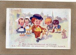 CPA - Environs De MULHOUSE (68) - Publicité Des Sels De Potasse D'Alsace - Le Plus Riche Cultivateur - Advertising