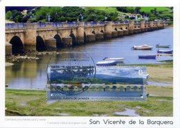 2018 SPAIN. Maximum Card For Bridge's Spanish Edition. San Vicente De La Barquera - 2018