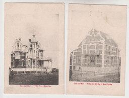 Lot 2 Cpa De Haan  1909 - De Haan