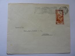 """Busta Viaggiata Pubblicitaria """"S.I.M.A.I. Milano """" 1953 - 1946-60: Storia Postale"""