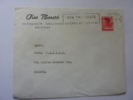 """Busta Viaggiata Pubblicitaria """"Olao Bonetti BOLOGNA"""" 1966 - 6. 1946-.. Repubblica"""