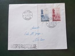 (18636) STORIA POSTALE ITALIA 1958 - 1946-60: Storia Postale
