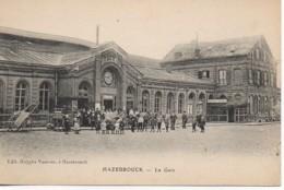 59 HAZEBROUCK  La Gare - Hazebrouck