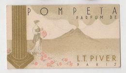 Carte Parfumée Pompeia - Perfume Cards