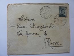 Busta Viaggiata Da Godo ( Ravenna ) A Roma 1917 - Storia Postale (Posta Aerea)