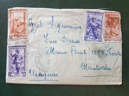 (18638) STORIA POSTALE ITALIA 1953 - 1946-60: Storia Postale