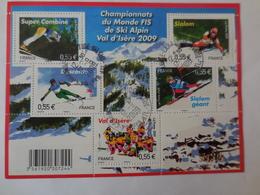 Championnat Du Monde De Sky Alpin 2009 Val D'Ysère - Blocs & Feuillets