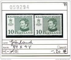 Grönland - Greenland -  Michel 84x + 84y  - ** Mnh Neuf Postfris - Grönland
