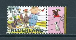 2015 Netherlands Child Welfare+tab Used/gebruikt/oblitere - Periode 2013-... (Willem-Alexander)