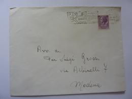 """Busta Viaggiata Annullo """"SCRIVETE LETTERE SU CARTA PIU' LEGGERE"""" 1960 - 1946-60: Storia Postale"""