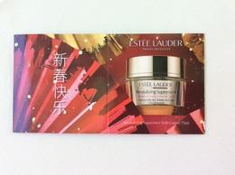 Surboite Estee Lauder  Nouvel An Chinois - Perfume Cards